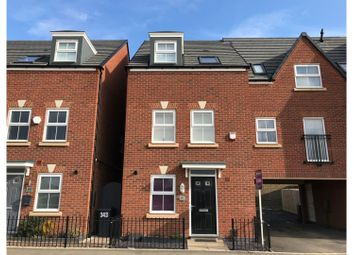 Thumbnail 3 bed town house for sale in Queen Elizabeth Road, Nuneaton
