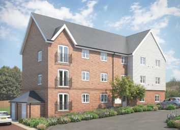 Thumbnail 1 bedroom flat for sale in Somerton Apartments At St Michael's Hurst, Barker Close, Bishop'S Stortford, Hertfordshire