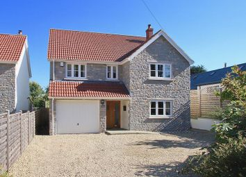 Thumbnail 4 bed detached house for sale in Old School Lane, Catcott, Bridgwater