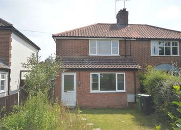 Thumbnail 3 bedroom semi-detached house for sale in Norwich Road, New Costessey, Norwich
