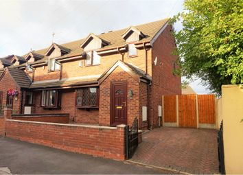 Thumbnail 2 bed town house for sale in Northwood Park Road, Stoke-On-Trent