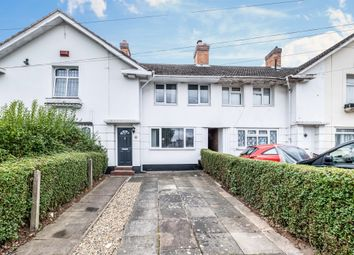 Thumbnail 2 bed terraced house for sale in Wellfield Road, Birmingham