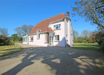 Thumbnail 4 bed detached house for sale in Calais Lane, St. Martin, Guernsey