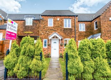 Thumbnail 2 bed town house for sale in Cobblestones Drive, Illingworth, Halifax