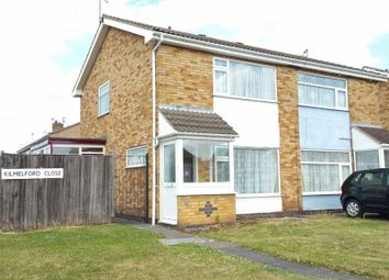 Thumbnail 2 bed semi-detached house to rent in Kilmelford Close, Rushey Mead, Leicester