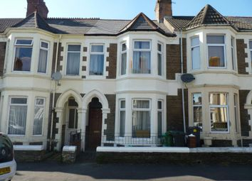 Thumbnail 4 bed terraced house for sale in Tewkesbury Street, Cathays Cardiff