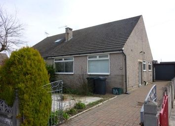 Thumbnail 2 bed semi-detached bungalow to rent in Foxfield Avenue, Morecambe