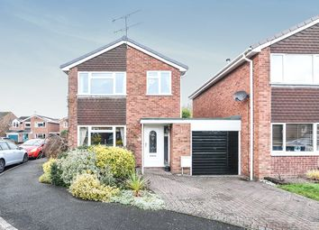 Thumbnail 3 bed detached house for sale in Hazel Close, Droitwich