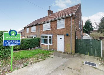 Thumbnail 3 bed semi-detached house for sale in Woodland Drive, North Anston, Sheffield