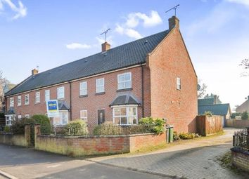 Thumbnail 3 bedroom end terrace house for sale in Watton, Thetford, Norfolk