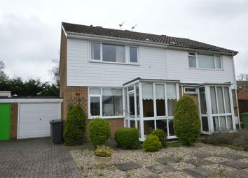 Thumbnail 2 bedroom semi-detached house for sale in Havant Close, Eaton, Norwich