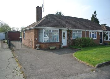 Thumbnail 2 bed semi-detached bungalow for sale in Oxstalls Drive, Longlevens, Gloucester