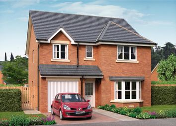 "Thumbnail 4 bed detached house for sale in ""Hughes"" at Applegate Drive, East Kilbride, Glasgow"