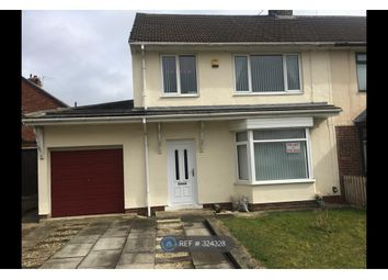 Thumbnail 3 bed semi-detached house to rent in Romanby Avenue, Stockton-On-Tees