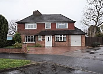 Thumbnail 4 bed detached house for sale in Pembury Road, Warblington, Havant