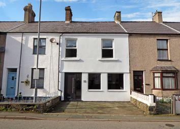 Thumbnail 3 bedroom terraced house for sale in Bangor Street, Y Felinheli