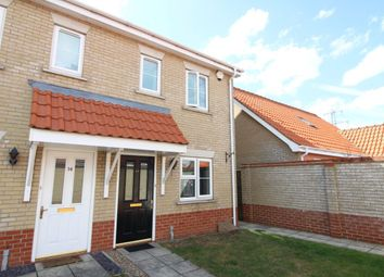Thumbnail 2 bed semi-detached house to rent in Broad Fleet Close, Oulton, Lowestoft