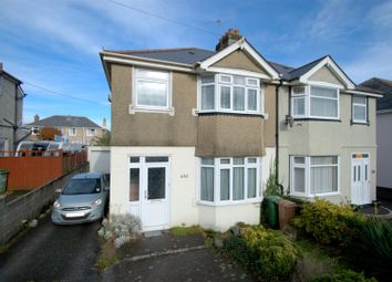 Thumbnail 3 bed semi-detached house for sale in Crownhill Road, Crownhill, Plymouth