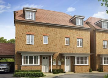 "Thumbnail 4 bedroom semi-detached house for sale in ""Woodbridge"" at Dorman Avenue North, Aylesham, Canterbury"