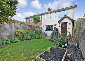 Thumbnail 3 bed semi-detached house for sale in Bainden Close, Rotherfield, Crowborough, East Sussex