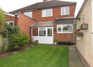 Thumbnail 3 bed semi-detached house for sale in Greendale Road, Glen Parva, Leicester