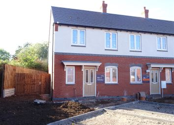 Thumbnail 3 bed town house for sale in Loughborough Road, Thringstone, Leicestershire
