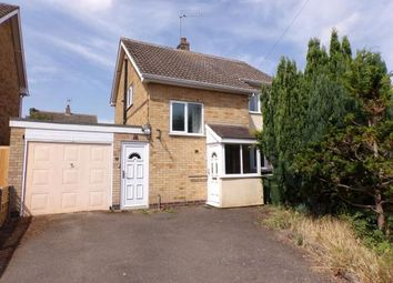 Thumbnail 3 bed detached house for sale in Fritchley Close, Huncote, Leicester, Leicestershire