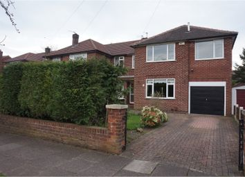 Thumbnail 4 bedroom semi-detached house for sale in Buckingham Road West, Heaton Moor