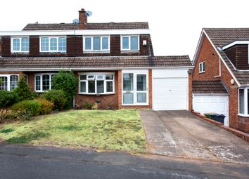Thumbnail 3 bed semi-detached house for sale in Pinetree Drive, Streetly, Sutton Coldfield
