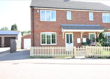 Thumbnail 3 bed semi-detached house for sale in Hurds Farm, Worlaby