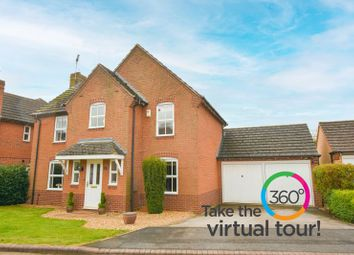 Thumbnail 4 bed detached house for sale in St. Lawrence Way, Tallington, Stamford