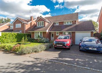 Thumbnail 4 bed detached house for sale in Gingells Farm Road, Charvil, Reading