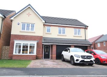 Thumbnail 5 bedroom detached house for sale in Agincourt, Houghton Le Spring