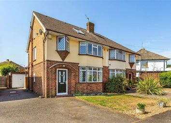 Thumbnail 4 bed semi-detached house for sale in Holly Avenue, Walton-On-Thames, Surrey