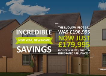 "Thumbnail 4 bed property for sale in ""The Ludlow At Central Park, Darlington"" at Haughton Road, Darlington"