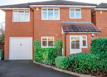 Thumbnail 4 bed detached house for sale in Loxley Close, Byfleet, Surrey
