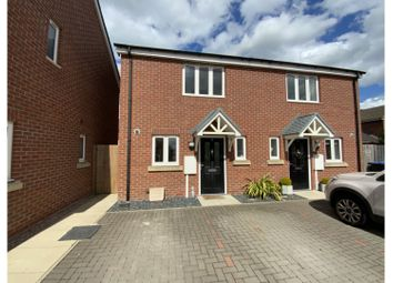 Thumbnail 2 bed semi-detached house for sale in Frank Watts Close, Leicester