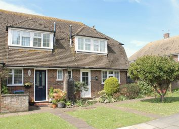 Thumbnail 2 bed end terrace house for sale in Vicarage Close, Seaford