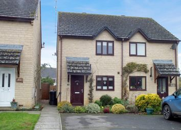 Thumbnail 3 bed semi-detached house for sale in Broadway Close, Kempsford, Fairford