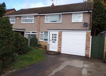 Thumbnail 3 bed semi-detached house for sale in Rowan Drive, Silverdale, Nottingham, Nottinghamshire