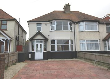 Thumbnail 3 bed semi-detached house for sale in St Anthonys Avenue, Eastbourne
