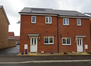 Thumbnail 2 bed end terrace house for sale in Quartly Drive, Bishops Hull, Taunton
