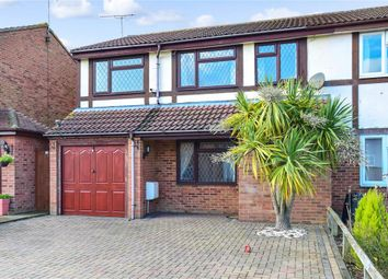 Thumbnail 4 bed semi-detached house for sale in Wrentham Avenue, Herne Bay, Kent