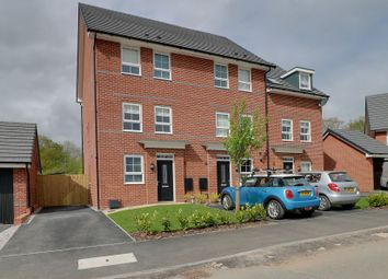 Thumbnail 3 bed town house to rent in Holly Blue Road, Sandbach