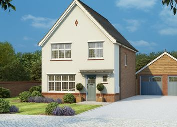 Thumbnail 3 bedroom detached house for sale in 5100, 5109, 5112 The Warwick, Marlborough Rd, Swindon, Wiltshire