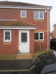 Thumbnail 2 bed semi-detached house to rent in Kings Drive, Bradwell, Great Yarmouth