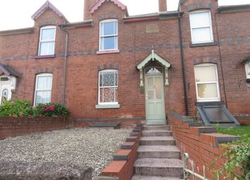 Thumbnail 2 bed terraced house to rent in Belmont Road, Hereford