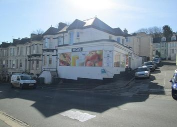 Thumbnail Retail premises for sale in 122 Alexandra Road, Mutley, Plymouth, Devon