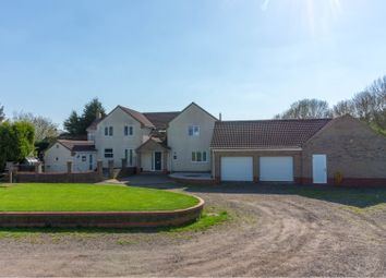 Thumbnail 6 bed farmhouse for sale in Drybread Road, Peterborough