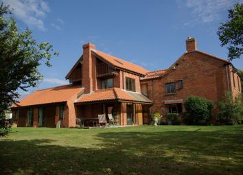 Thumbnail 6 bed detached house for sale in Vicarage Lane, North Muskham, Newark